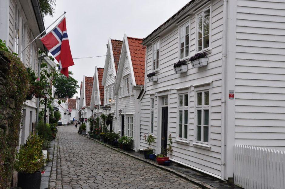Noorwegen Stavanger Gamle