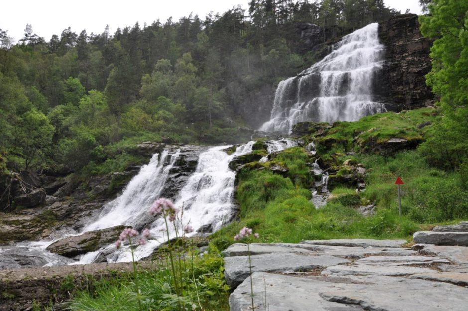 Noorwegen Svandalsfossen Ryfylke route