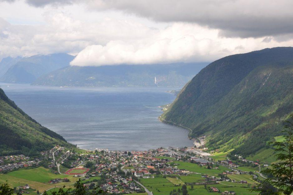 Noorwegen Vik Sognefjord