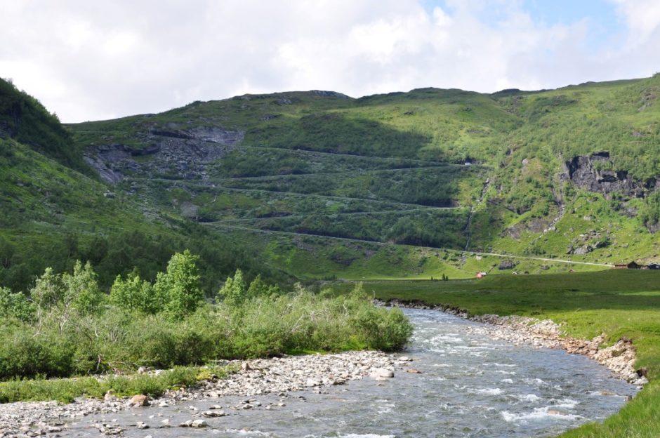 Noorwegen route ri Sognefjord