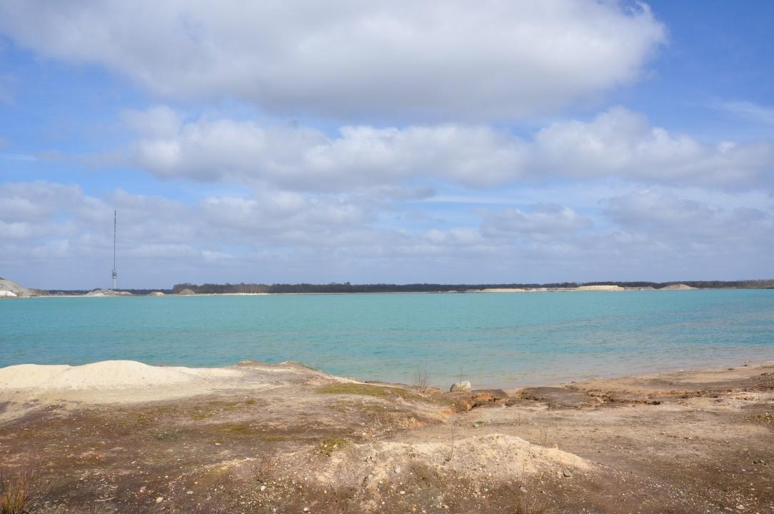 Zandafgraving Blauwe Meer