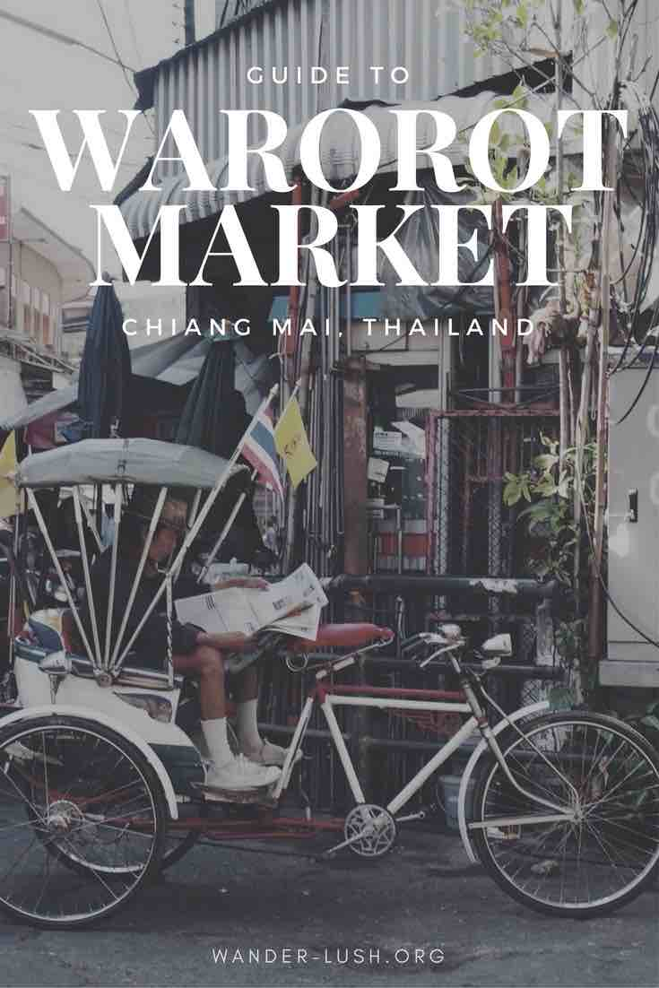 A Comprehensive Guide to Chiang Mai's Warorot Market, Ton