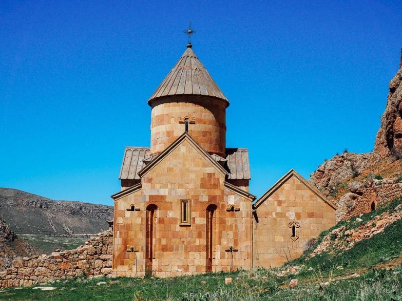 A stone monastery in Armenia.
