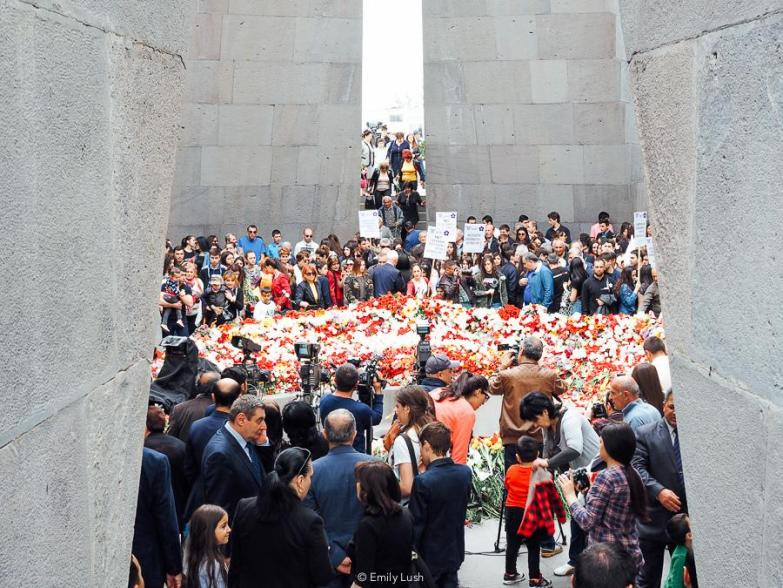 © Emily Lush 2018 | Genocide Memorial | Things to do in Armenia Yerevan