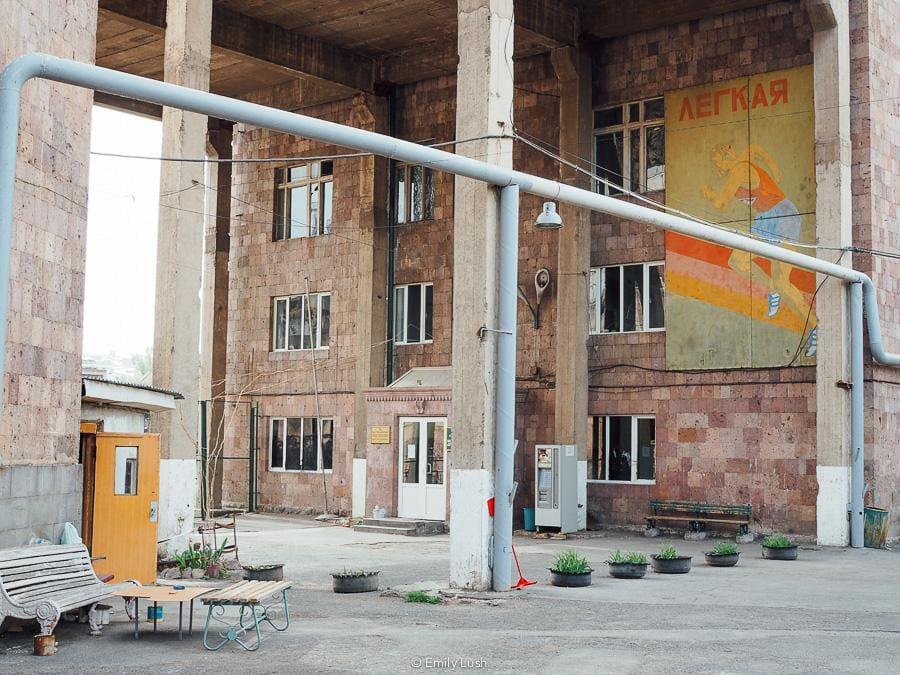 © Emily Lush 2018 | Soviet architecture | Things to do in Armenia Yerevan