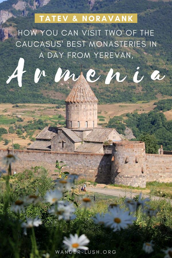 Day trip to Tatev Monastery from Yerevan, Armenia.