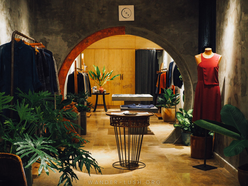 Vu Thao is the designer behind the sustainable Vietnam fashion brand Kilomet109. Here's a look at Thao's studio and her newly opened boutique in Hanoi.