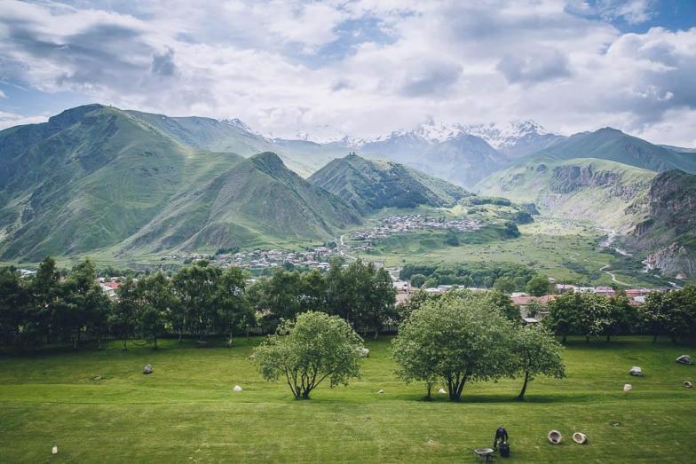 Mount Kazbek. Credit: candoyi (used under Creative Commons).