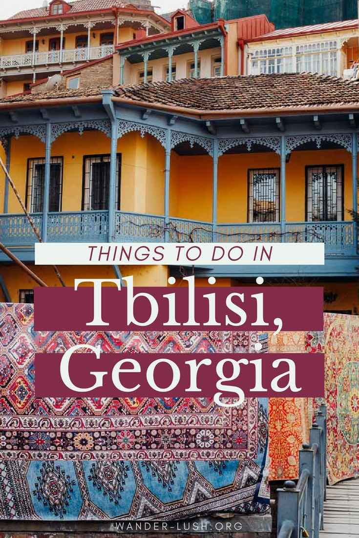 There's a whole lot to love about Tbilisi, Republic of Georgia's capital city. From unusual snack foods to outlandish architecture and underground music clubs, here are some of my favourite things to do in Tbilisi, Georgia.
