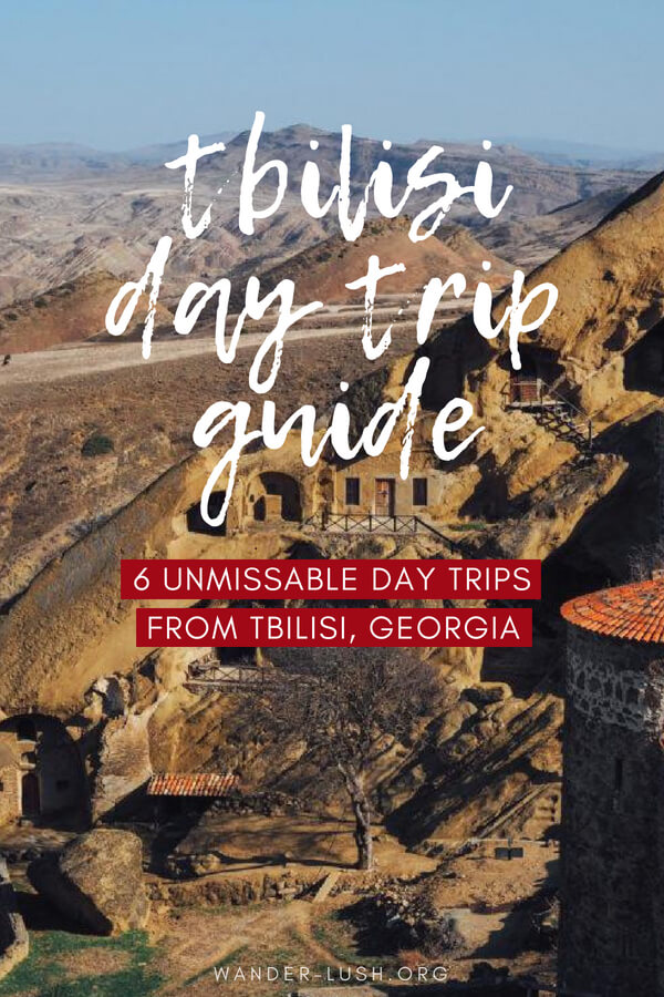 Monasteries, mountains and wineries—there's so much to see right on Tbilisi's doorstep. This guide covers six of the best day trips from Tbilisi, Georgia—including up-to-date transport instructions and travel tips to make the most of your visit.