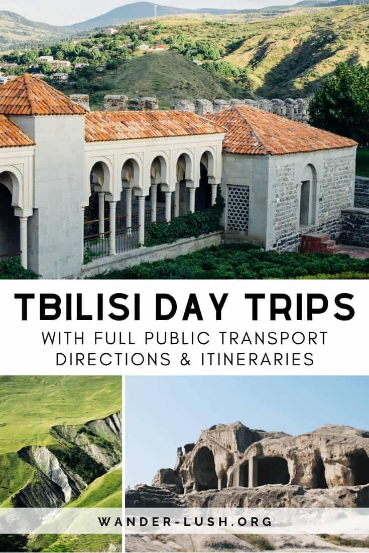 Six of the best day trips from Tbilisi, Georgia — including up-to-date transport info, ticket prices, and travel tips to make the most of your visit.