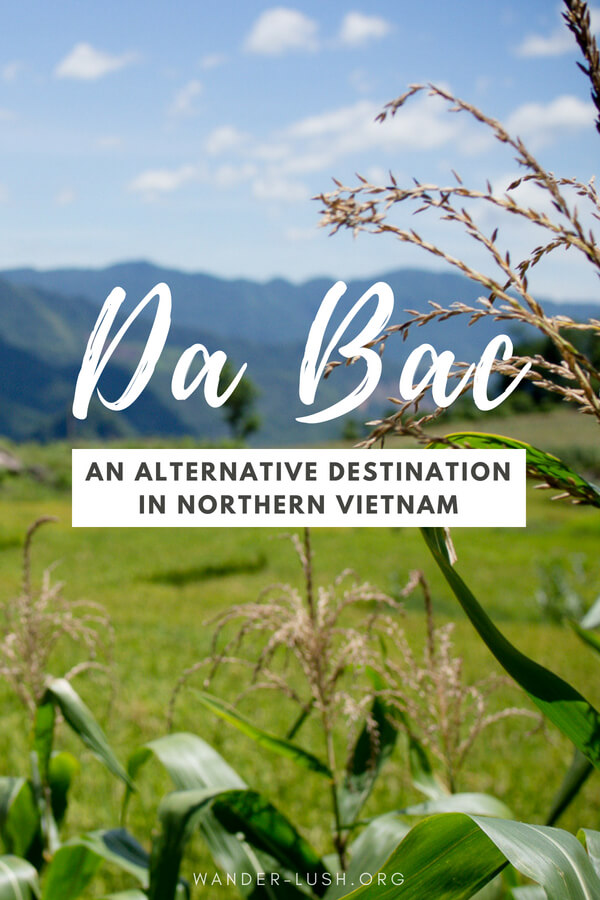 Trekking and homestays top many people's Vietnam travel bucket lists. Da Bac, 100km outside of Hanoi, is the perfect place to experience an authentic Vietnam homestay while giving back through community-based tourism.