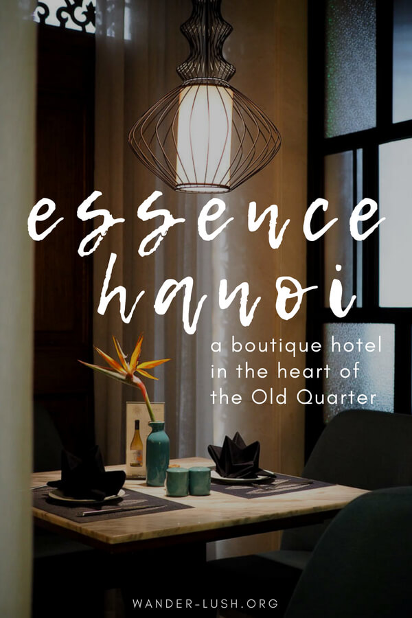 With so many accommodation options available in Hanoi, Vietnam, choosing a place to stay can be a difficult task. With outstanding service, an award-winning restaurant and an unbeatable location right in the heart of the Old Quarter, Essence Hanoi Hotel & Spa is my top choice of Hanoi Old Quarter hotel.