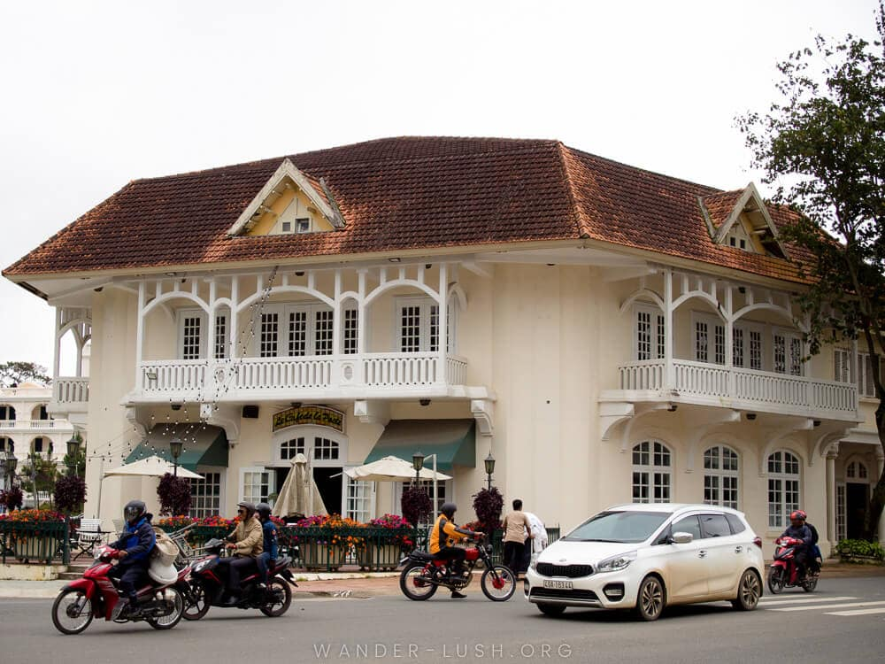 Interested in seeing French architecture in Vietnam? Dalat in the Central Highlands is home to some of the finest French colonial buildings in the country.