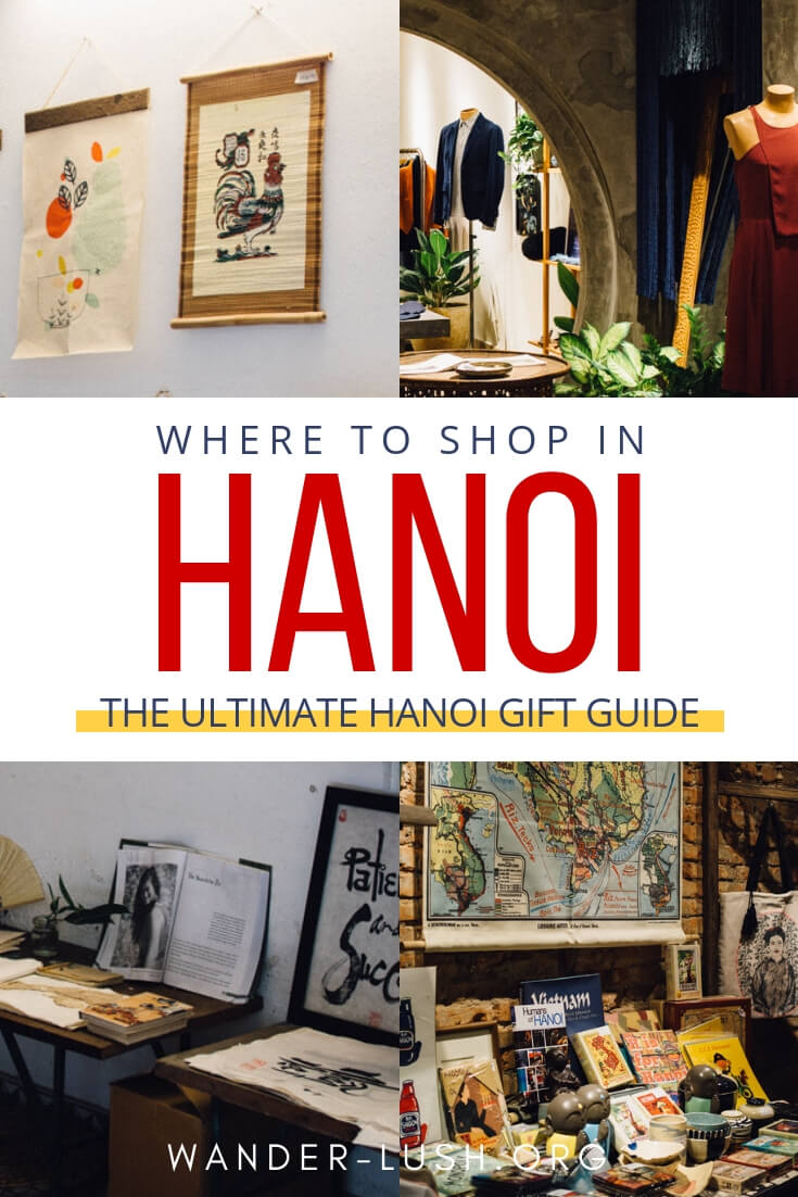 Hanoi Souvenirs: Best Things to Buy in Hanoi (With Map