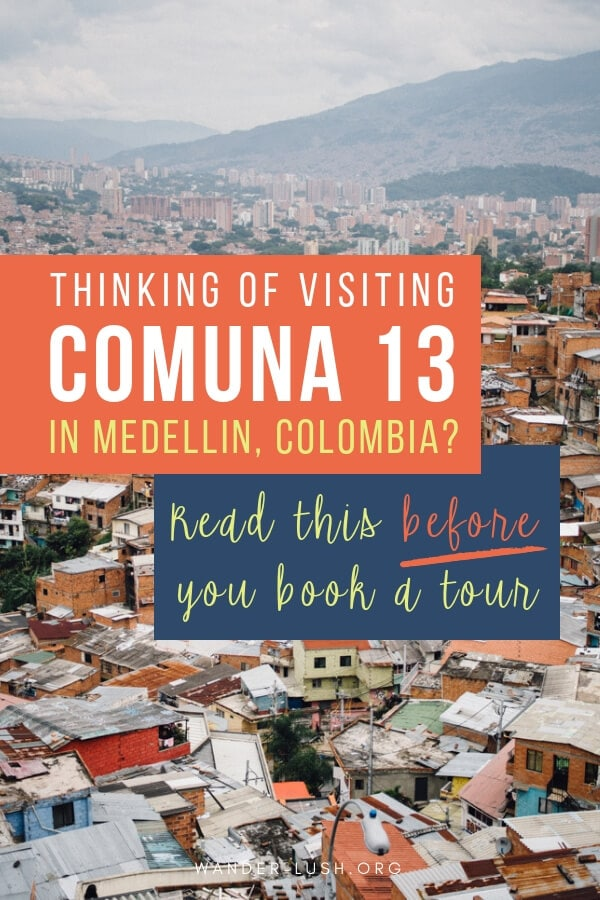 Comuna 13 is one of the best places to find street art in Medellin, Colombia. Here are 13 things you need to know before you sign up for a Comuna 13 tour.
