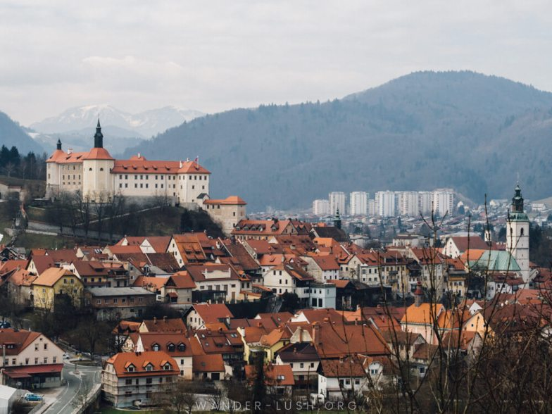 Looking for the perfect Ljubljana day trip? Here's everything you need to know about travelling to Skofja Loka – including transport info and the best things to do in Skofja Loka, plus a detailed map, itinerary and travel video.