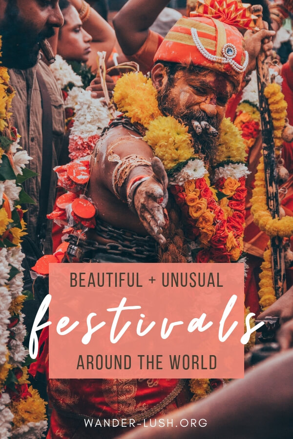 Fun and fascinating cultural rituals and ceremonies around the world—from Portugal to the USA, India to Bulgaria.