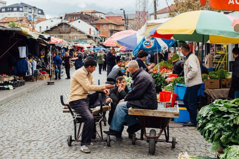 Market day in Prishtina | Things to do in Prishtina city, Kosovo—including the best cultural attractions, designer cafes and architecture. Use this guide to plan your Kosovo travel!