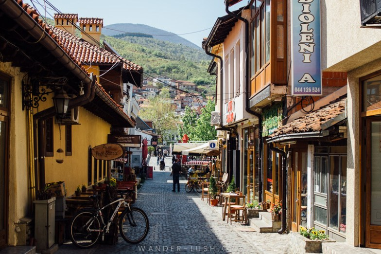 Prizren streets | Planning a trip to Kosovo? Let my video guide be your inspiration! Here are the best things to do in Prizren, Kosovo's cultural capital.