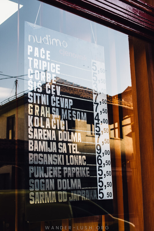 A Sarajevo food tour gives a perfect introduction to the city's culture and history. Here's what to expect from a food tour with local company, Balkantina.