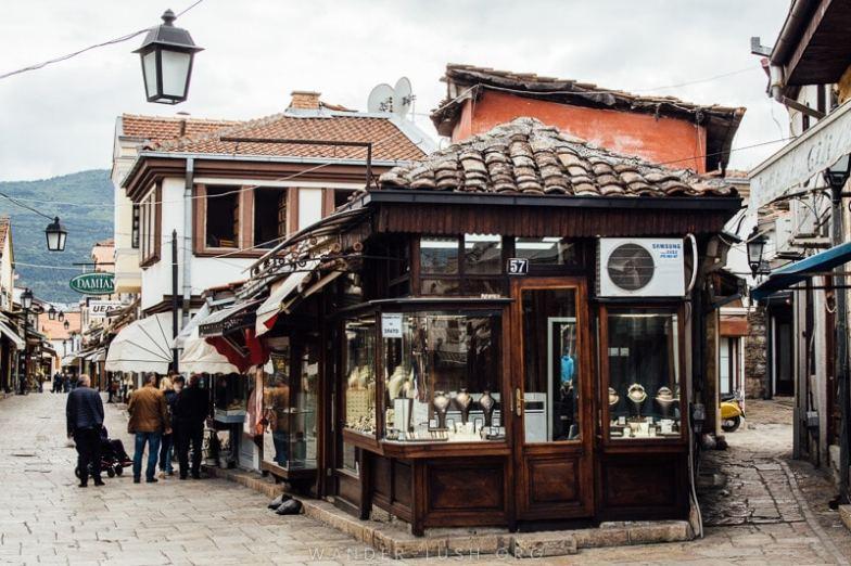Skopje Old Bazaar.