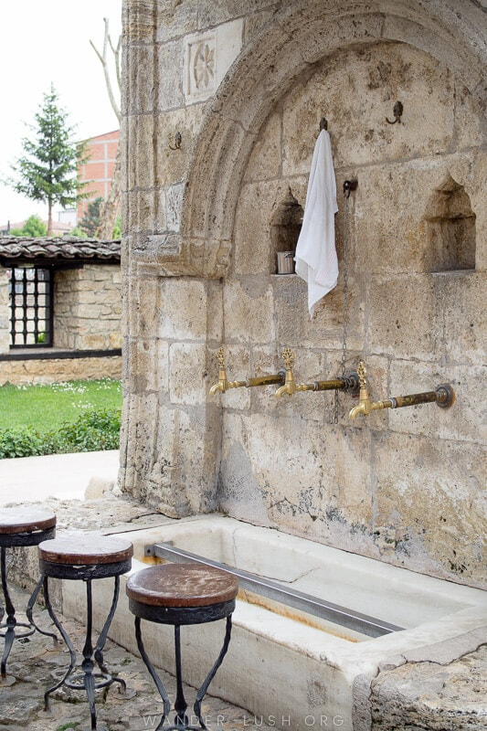 Looking for an easy day trip from Skopje? Here's how to visit 2 of the country's top religious sites, Tetovo Mosque & Arabati Baba Teke, by bus.