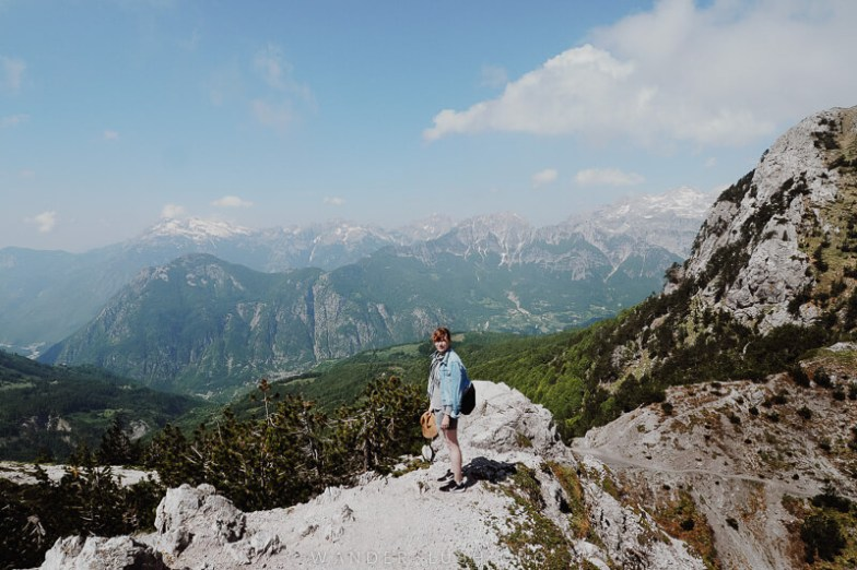 Me during the Valbona Theth hike.