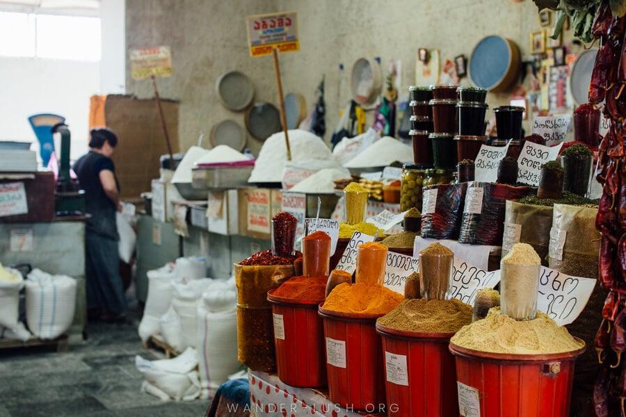 A Guide to the Dezerter Bazaar: The Biggest Tbilisi Market
