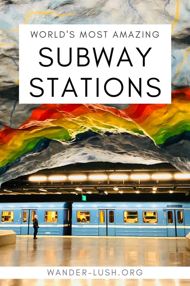 Discover the world's most beautiful metro stations and usual subway stations. Featuring the best subway station art and coolest underground architecture.