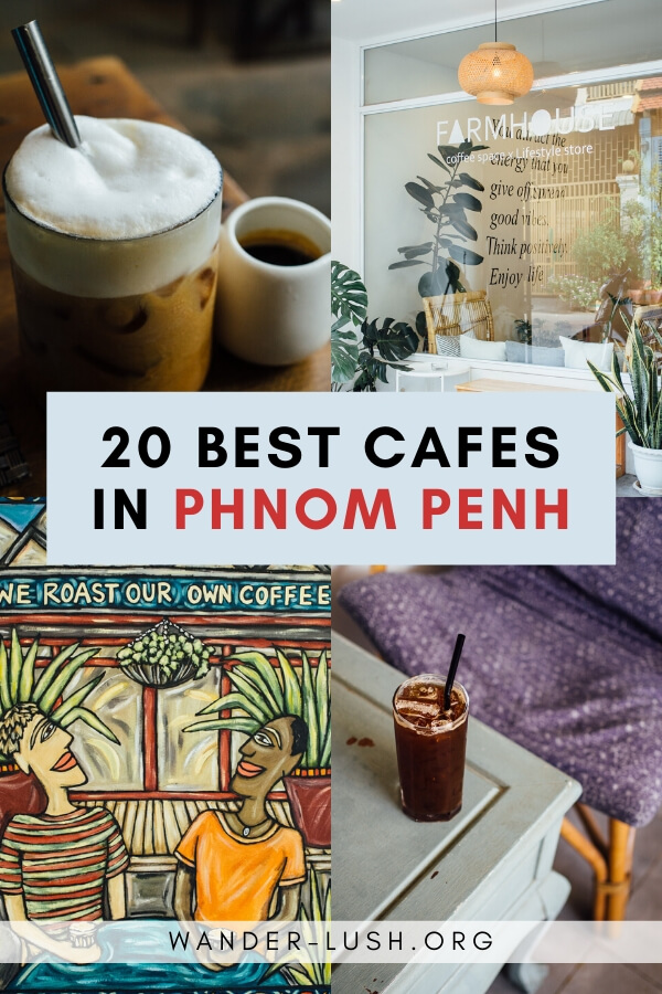 Use this Phnom Penh cafes guide to find the best coffee in Phnom Penh. Includes European style cafes, artisanal coffee shops & cafes with WIFI.