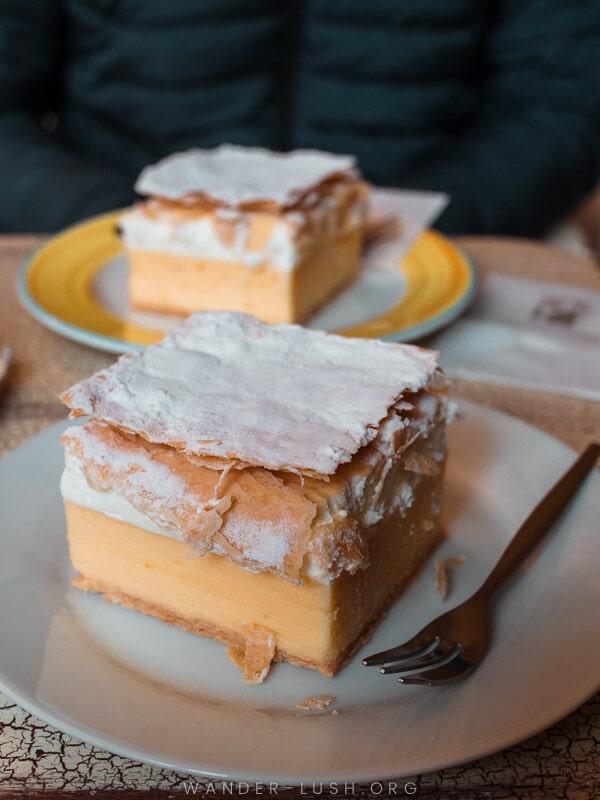 Bled cream cake.