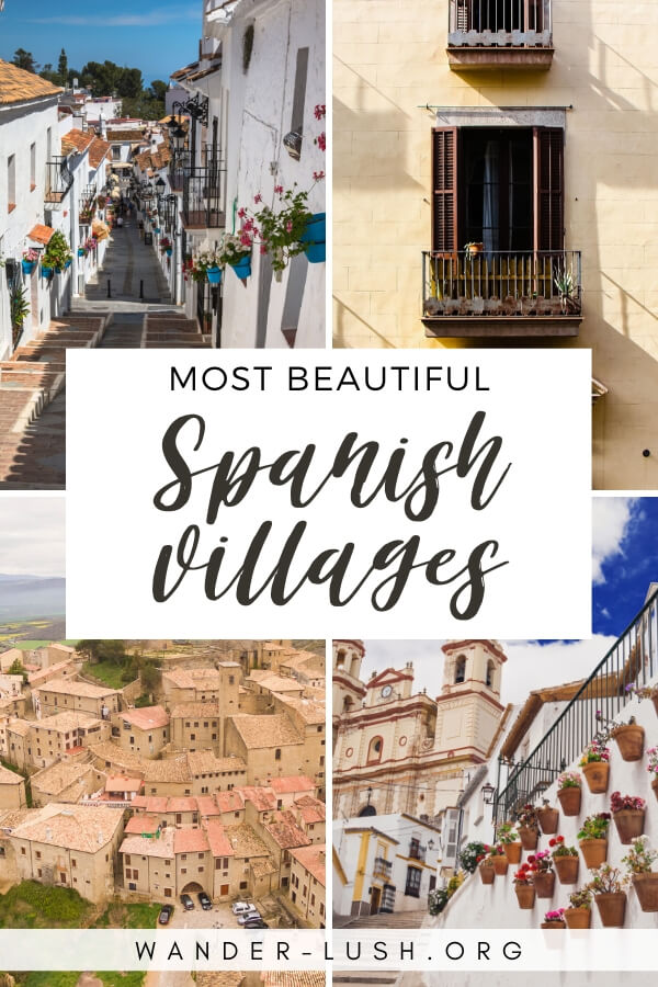 13 beautiful, charming and off-the-beaten-track Spanish villages and small towns that deserve a place on your Spain travel wishlist.