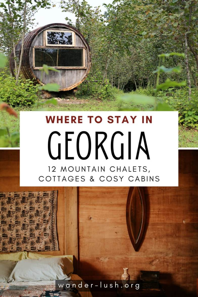 The best mountain chalets and nature cabins in Georgia – homestays, eco resorts and boutique hotels – with access to hiking in the Caucasus mountains, skiing and more.