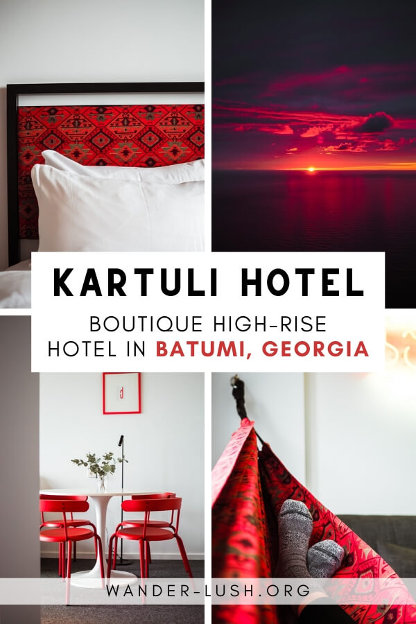 My review of Kartuli Hotel, an incredible boutique hotel in Batumi, Georgia. Located inside Orbi Beach Tower with views of the Black Sea.