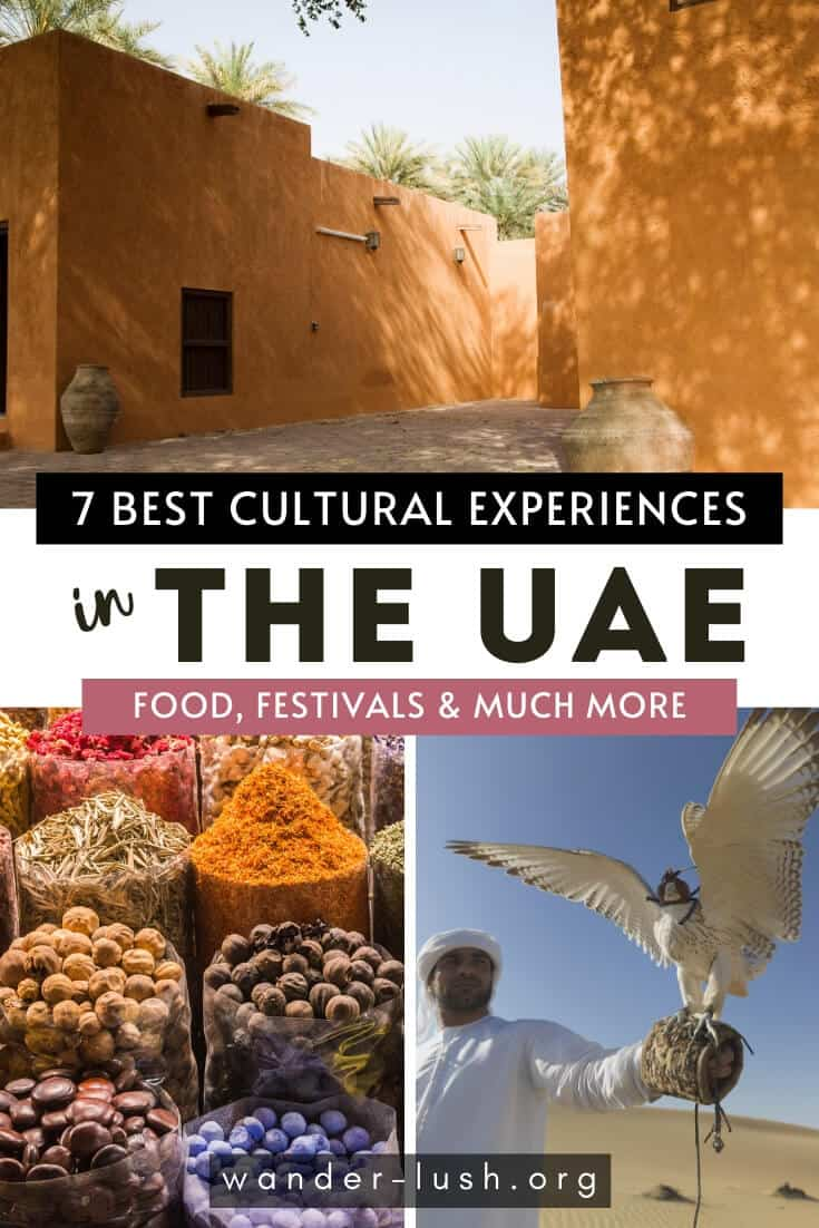 Planning a trip to the United Arab Emirates? Here are 7 amazing experiences in Dubai and Abu Dhabi that will teach you about UAE culture.