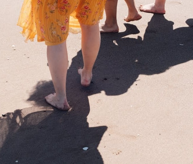 Feeling it all – Why barefoot walking is full of life lessons