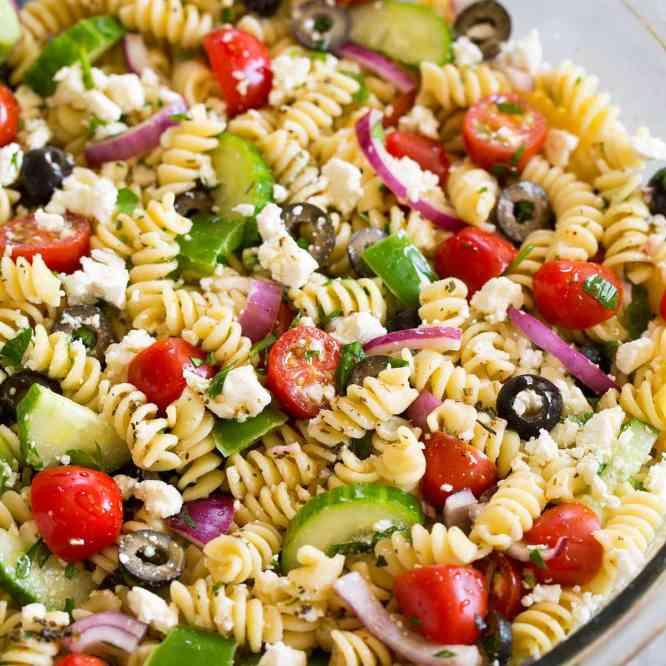 Helena's Pasta Salad