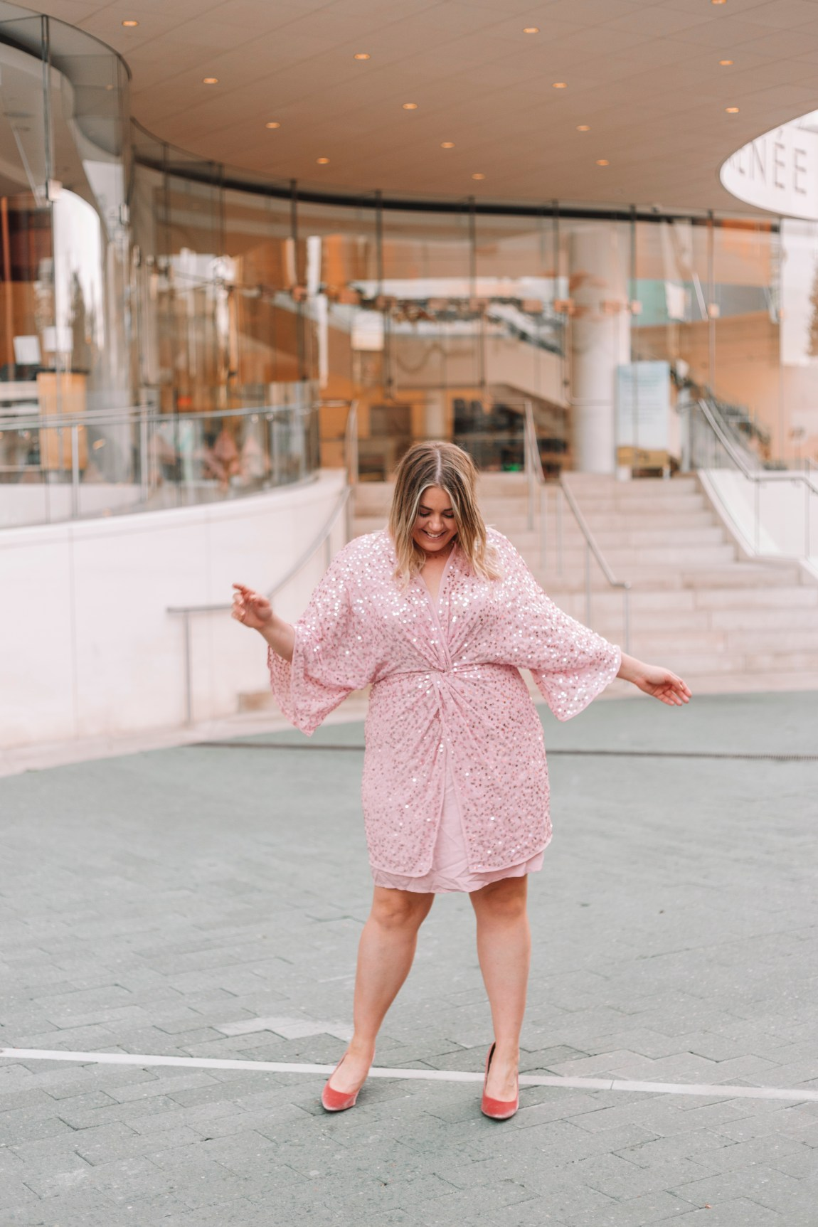 New Years Eve 2019 Dress Roundup, pink sequin dress