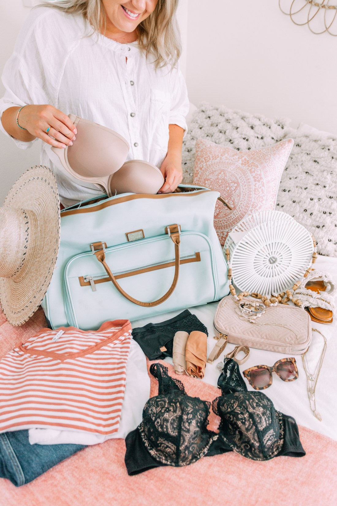 Packing for a Summer Vacation with Thirdlove
