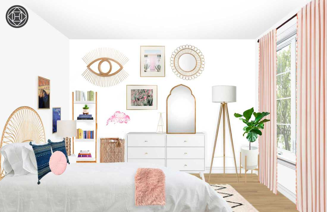 My Boho Bedroom Redesign with Havenly