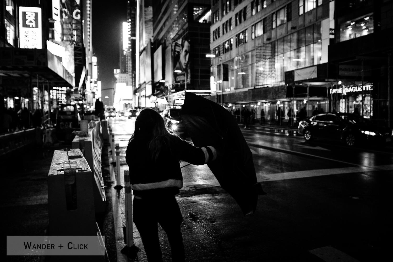 Umbrella vs the city
