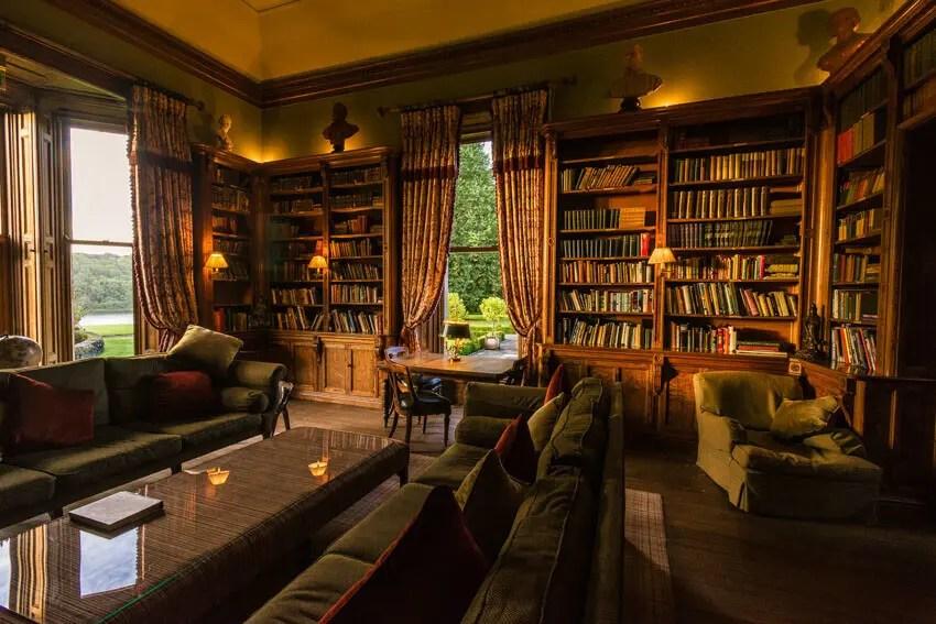 Castle Leslie library