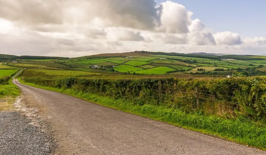 ireland road trip country