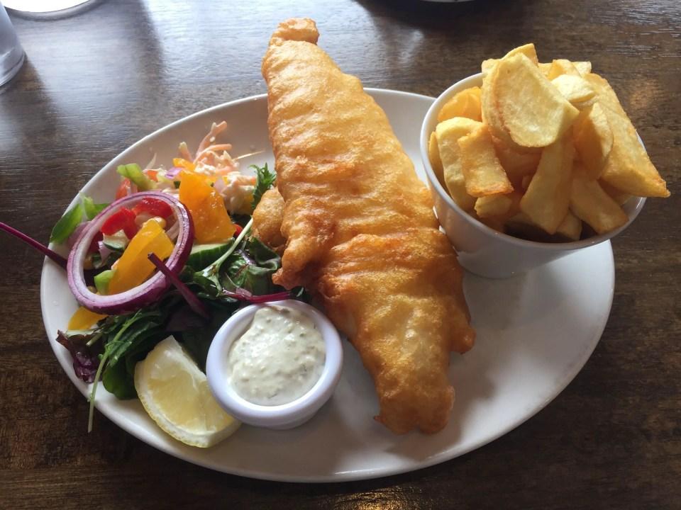 Irish fish and chips