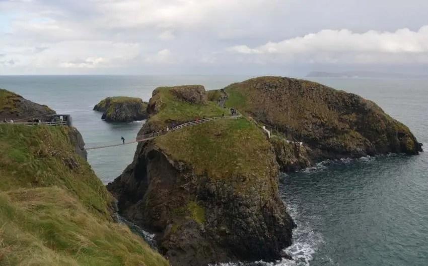rope bridge Irish landmarks