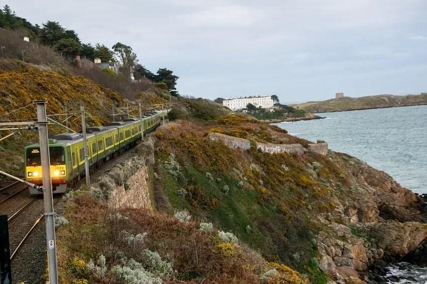 train travel in ireland