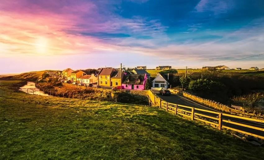 Doolie Village Ireland Near Cliffs Moher