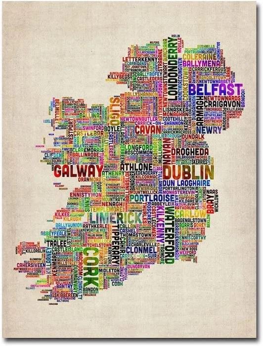 irish wall art