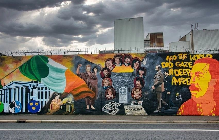 Street Mural Belfast